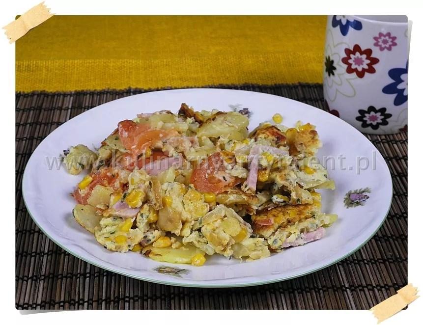 Omlet wstylu hiszpańskim