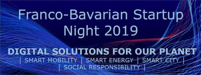 Nuit franco-bavaroise des start-ups 2019