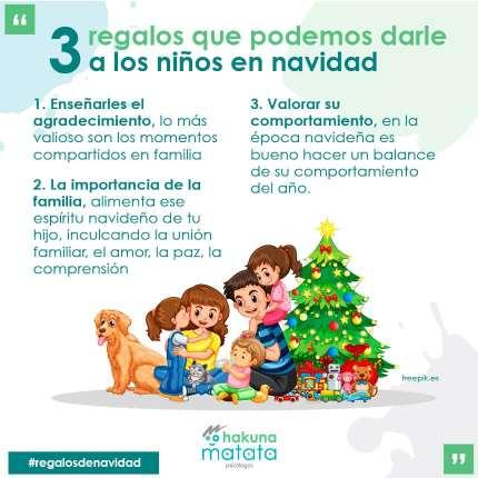 3 regalos para niños en navidad