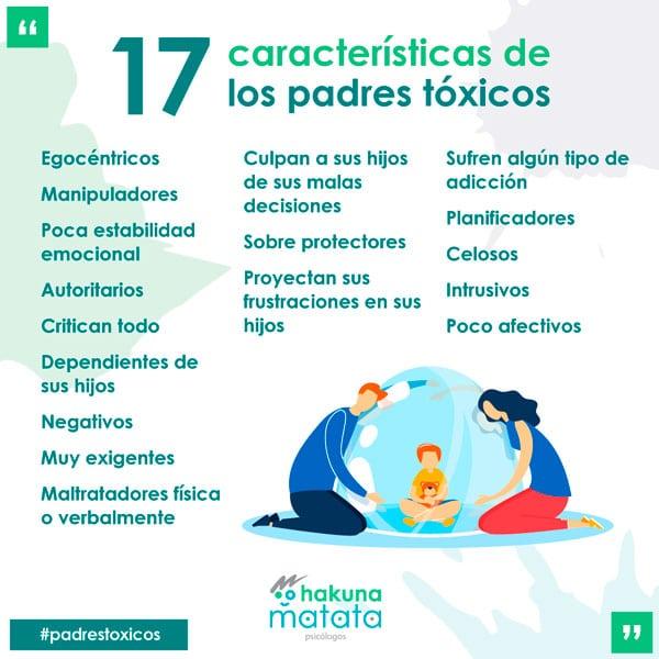 17 characteristics of toxic parents