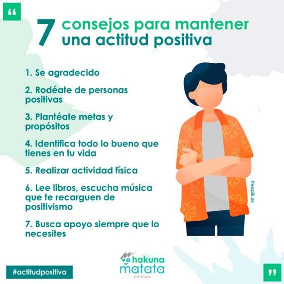 7 consejos para mantener una actitud positiva