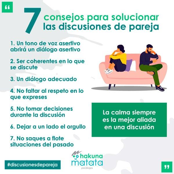 Discusiones de pareja como solucionarlas