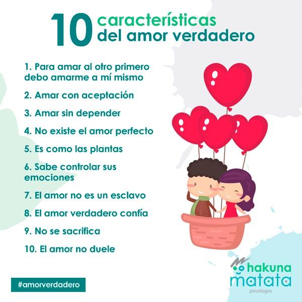 10 caracteristicas del amor