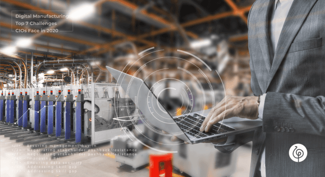 Digital Manufacturing: Top 7 Challenges CIOs Face in 2020