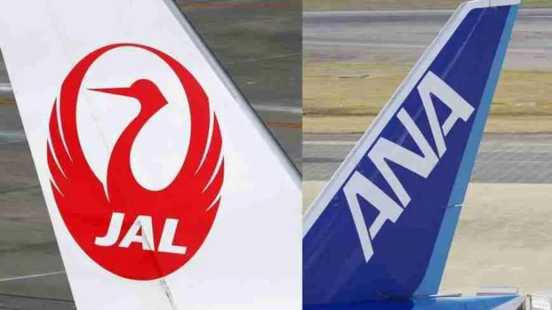 JAL, ANA Reduce Domestic Flights