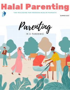 Parenting in a pandemic issue 09 cover