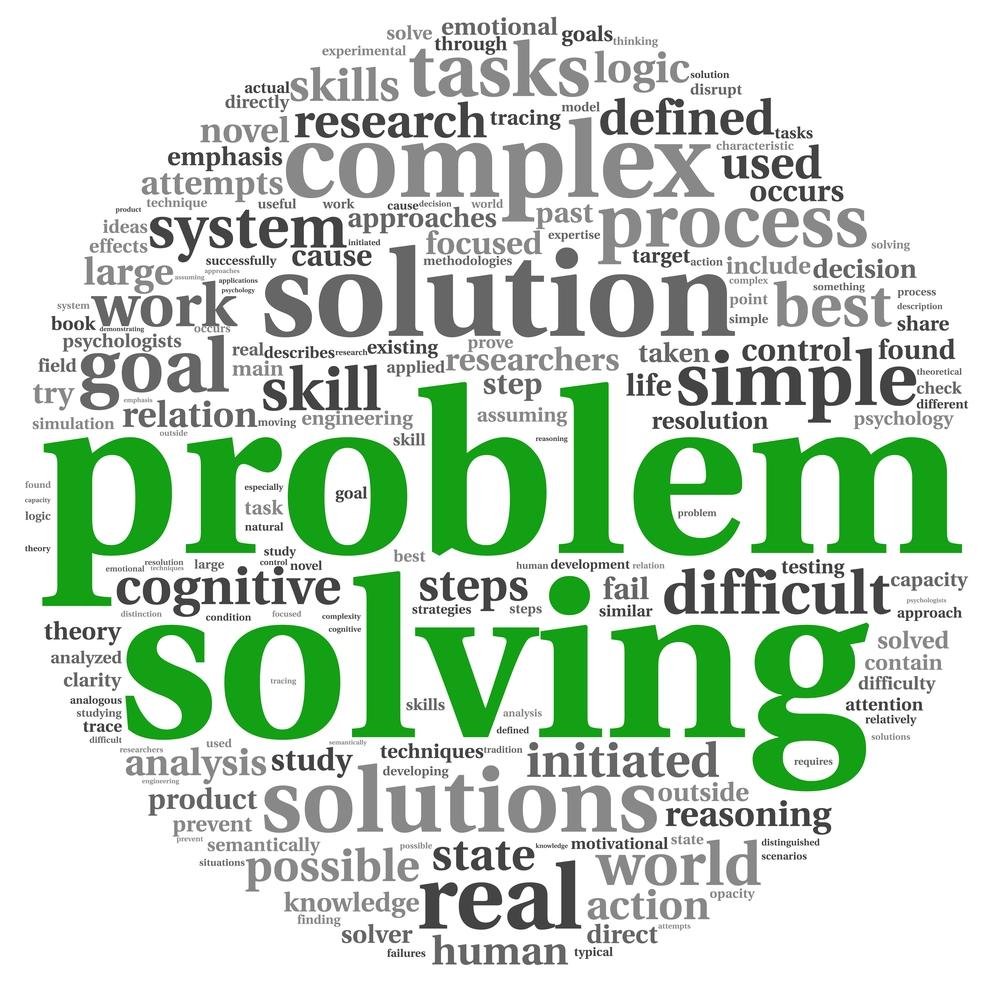problem solving word chart