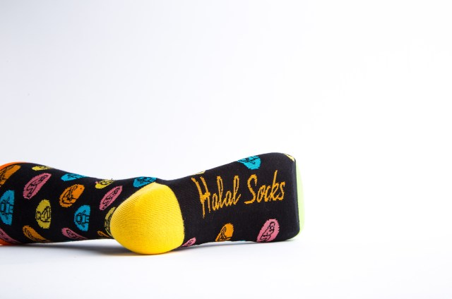 Halal Socks Polka Dot Prayer