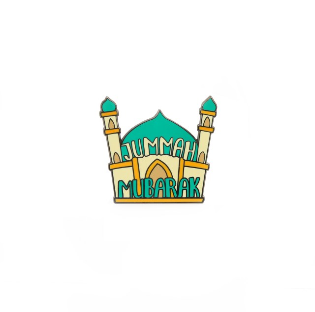 Thank God its Friday Jummah Badge Pin