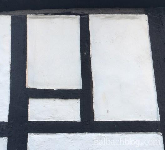 halbachblog: Trend Black and White, Inspiration Fachwerk