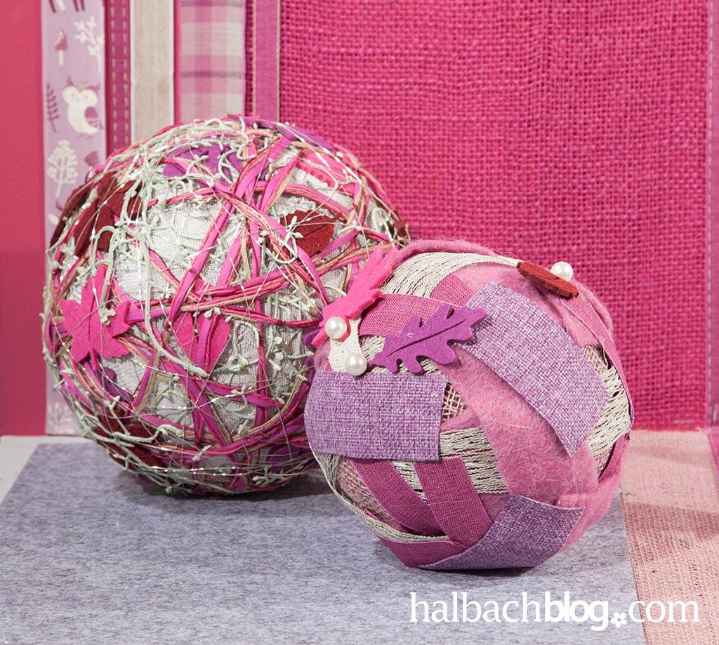halbachblog-diy-herbstdeko-kugeln-lila