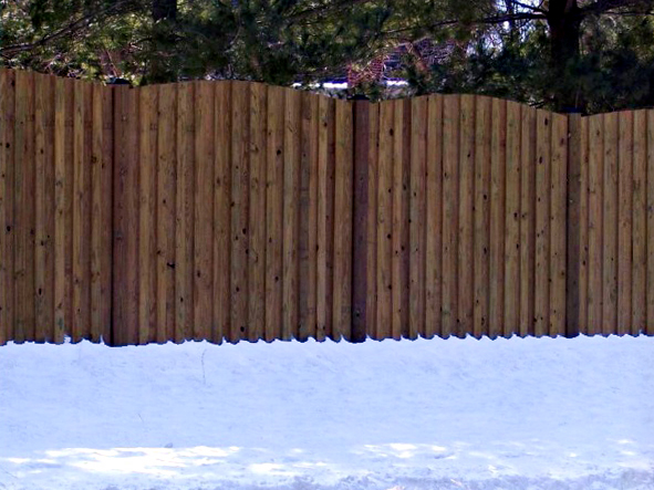 Wood Privacy Fence Photo Gallery