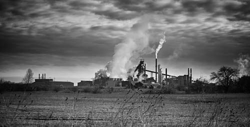 A stark image of the industry in Haldimand County