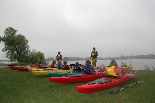 An instructor creates cherished childhood memories as he teaches young residents of Haldimand County to canoe on the Grand River