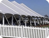 An image of a temporary structure