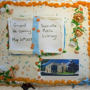 Dunnville Grand Reopening Cake