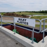 Canborough bulky plastics bin