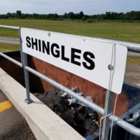 Canborough shingles bin