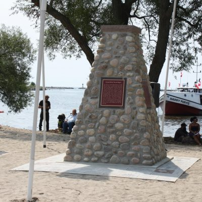 Port Maitland Cairn Dedication