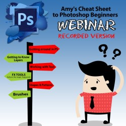 PHOTOSHOP CHEAT SHEET WEBINAR