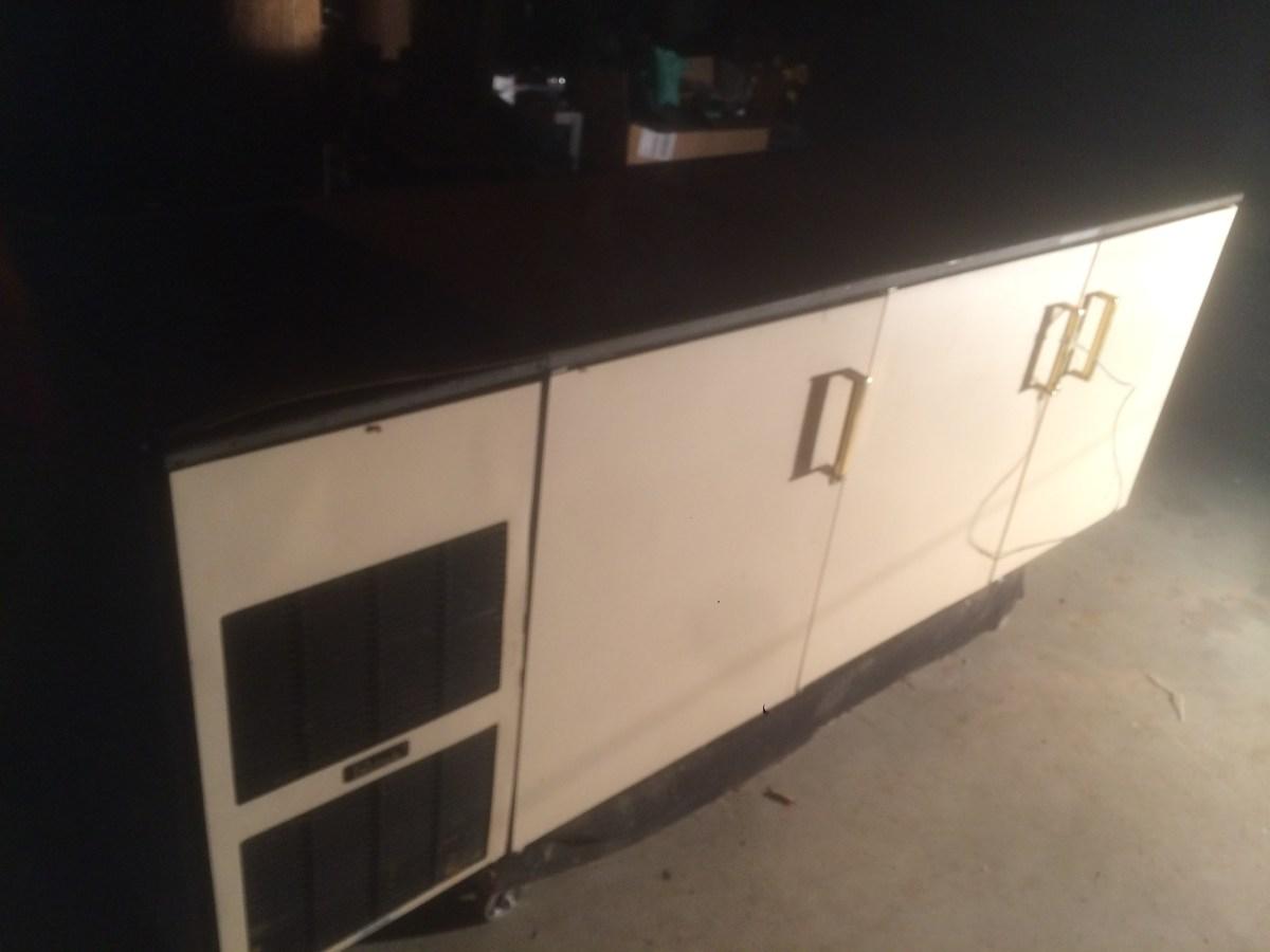 Perlick 88 3 Door Under Counter Commercial Fridge Nsf Bar
