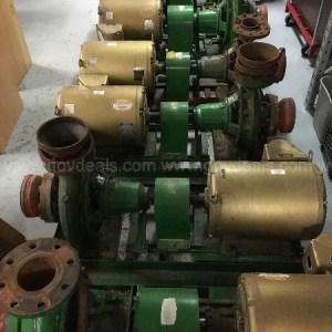 Paco 40957 LF Centrifugal Pump – 20 HP Baldor Motor 800 GPM 5×4