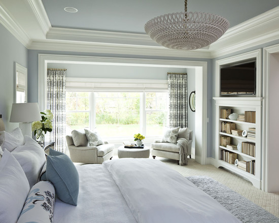 Parkwood Road Residence Master Bedroom (Minneapolis)