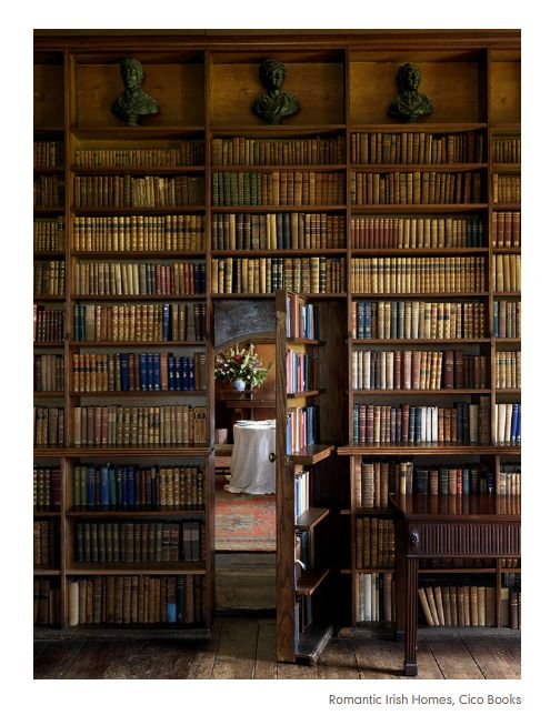 Secret Bookcase Room, Ireland