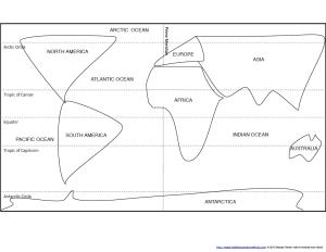 Blob Map Latitude Master