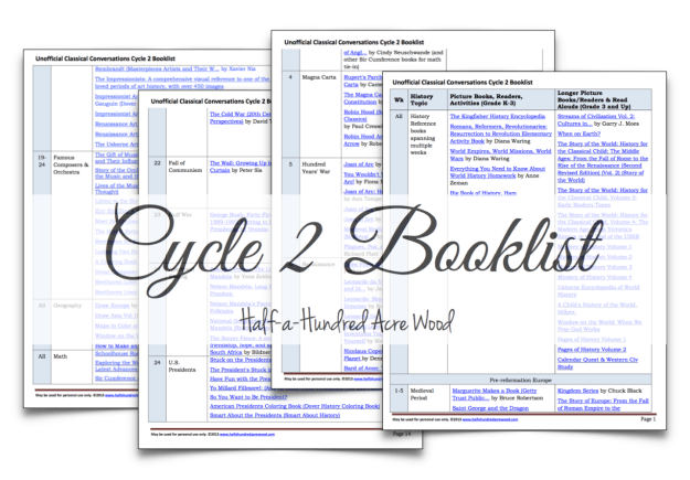 Cycle-2-Booklist