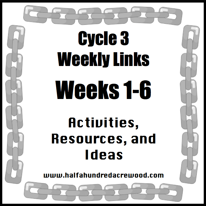 Cycle 3 Weeks 1-6 Resources