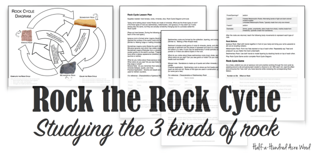 Rock the Rock Cycle