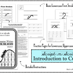 Introduction to Cursive: Roller Coaster Writer