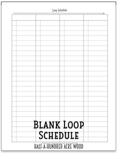 Transformative image intended for loop schedule printable
