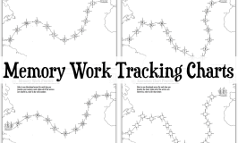 Memory Work Tracking Charts {Foundations & Essentials}