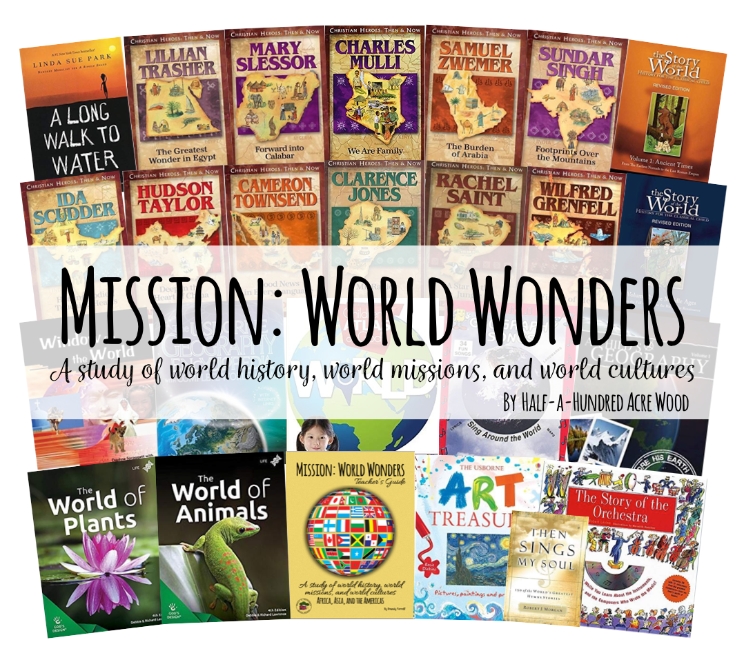 Mission: World Wonders Reading Plan & Curriculum Package