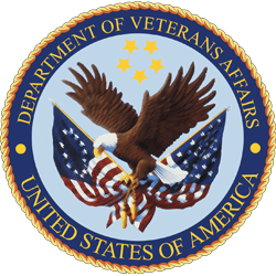 Department of Veterans Affairs Logo, Featured Client 3 of 9