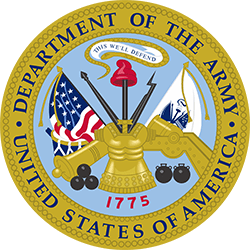 Department of the Army Logo, Featured Client 5 of 9