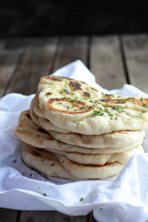 Homemade Naan (with step-by-step photos) | halfbakedharvest.com