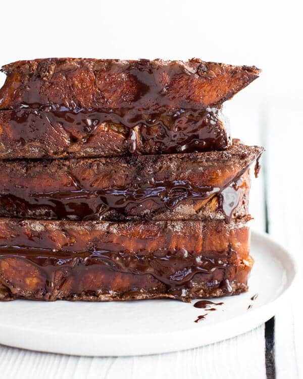 Best Ever Hot Chocolate French Toast | halfbakedharvest.com