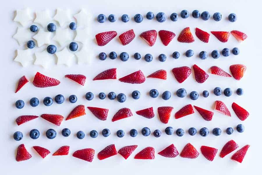 Firecracker Berry Margarita Floats | halfbakedharvest.com
