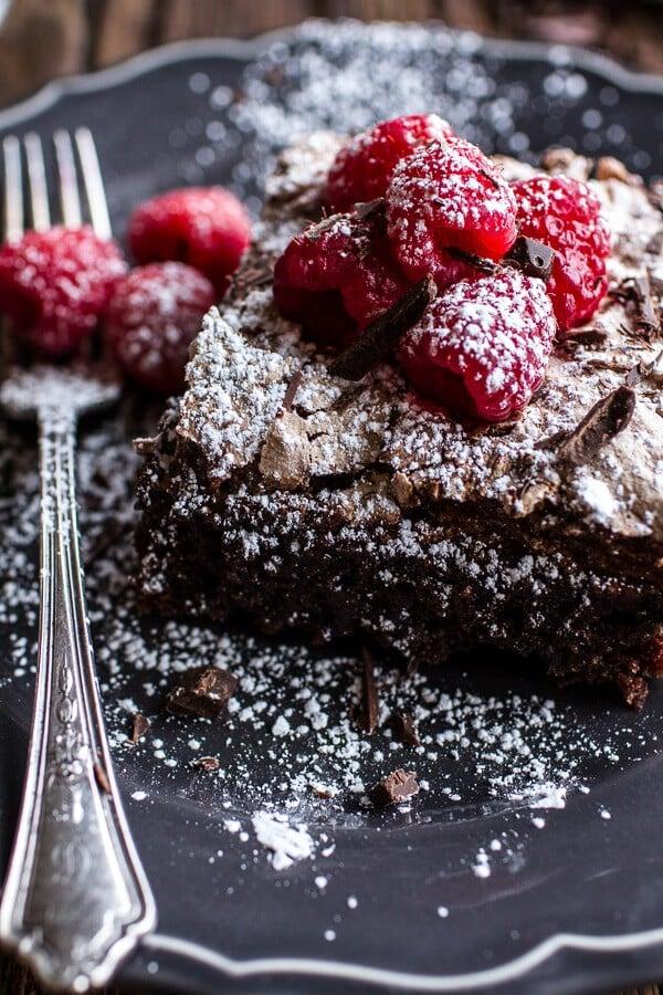 Magic Gooey Chocolate Meringue Texas Sheet Cake | halfbakedharvest.com @hbharvest