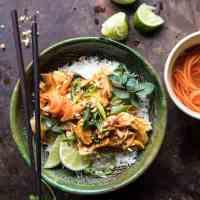 Instant Pot Thai Lemongrass Chicken.