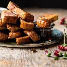 Cinnamon Sugar French Toast Sticks   halfbakedharvest.com @frenchtoast #easyrecipes #breakfast #cinnamonsugar