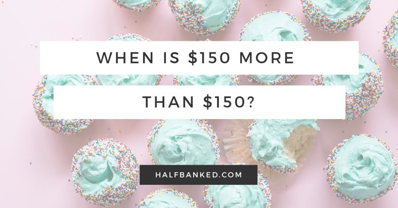 As part of RBC's #Make150Count campaign, I asked: when is $150 worth more than $150?