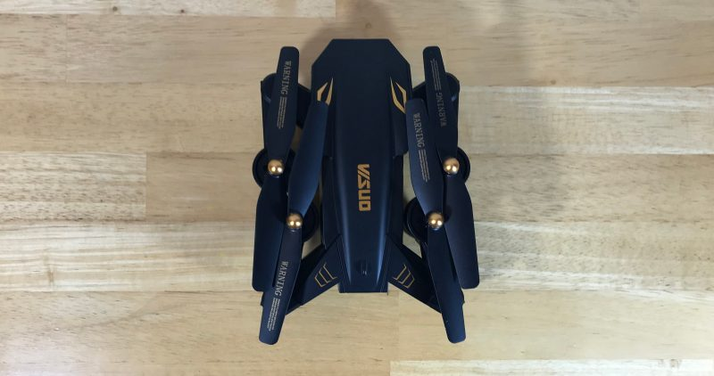 Flycam VISUO XS809s Battle Shark