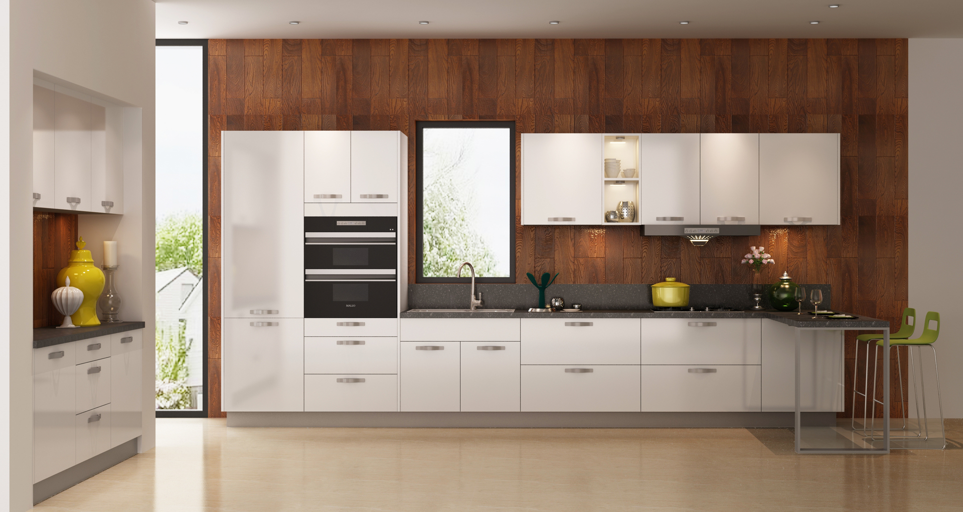 Modern Kitchen Cupboards Small Kitchens