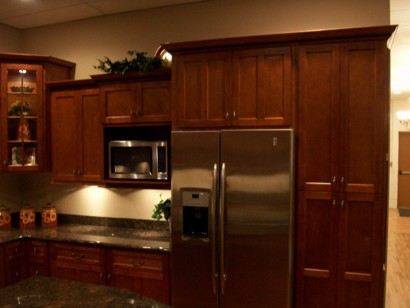 Natural Cherry Stain Wood Cabinets Maple Doors