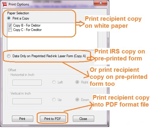 How To Print And File C Cancellation Of Debt