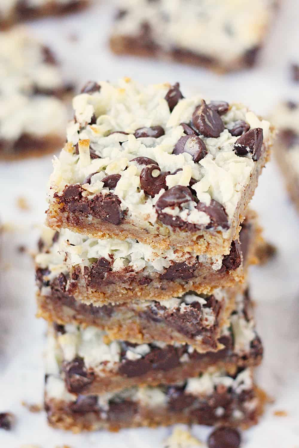 Hello Dolly Bars Half Scratched